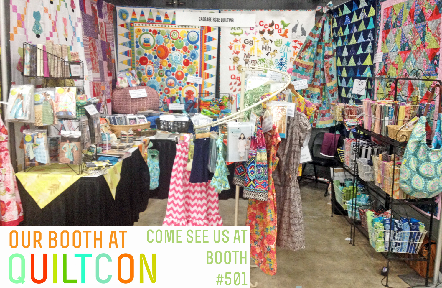Cabbage Corner: Come See us at QuiltCon! Booth: 501 : quilt con - Adamdwight.com