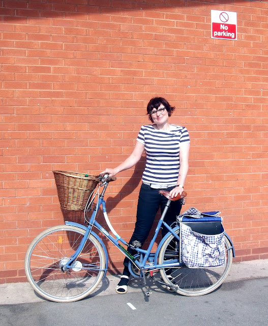 Manchester Cycle Chic bike babble Vicky and Pashley