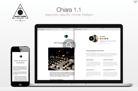 Chiara - Intelligent Ghost Theme