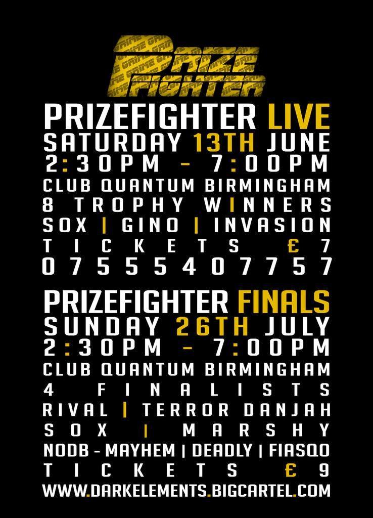 Prizfighter Live 2015!