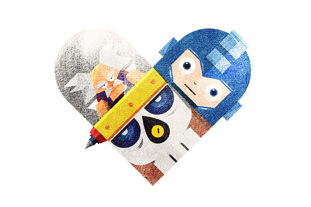 Versus/Hearts by Dan Matutina - The Doc and the Rock