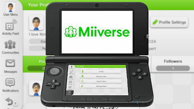 miiverse 3ds nintendo network id