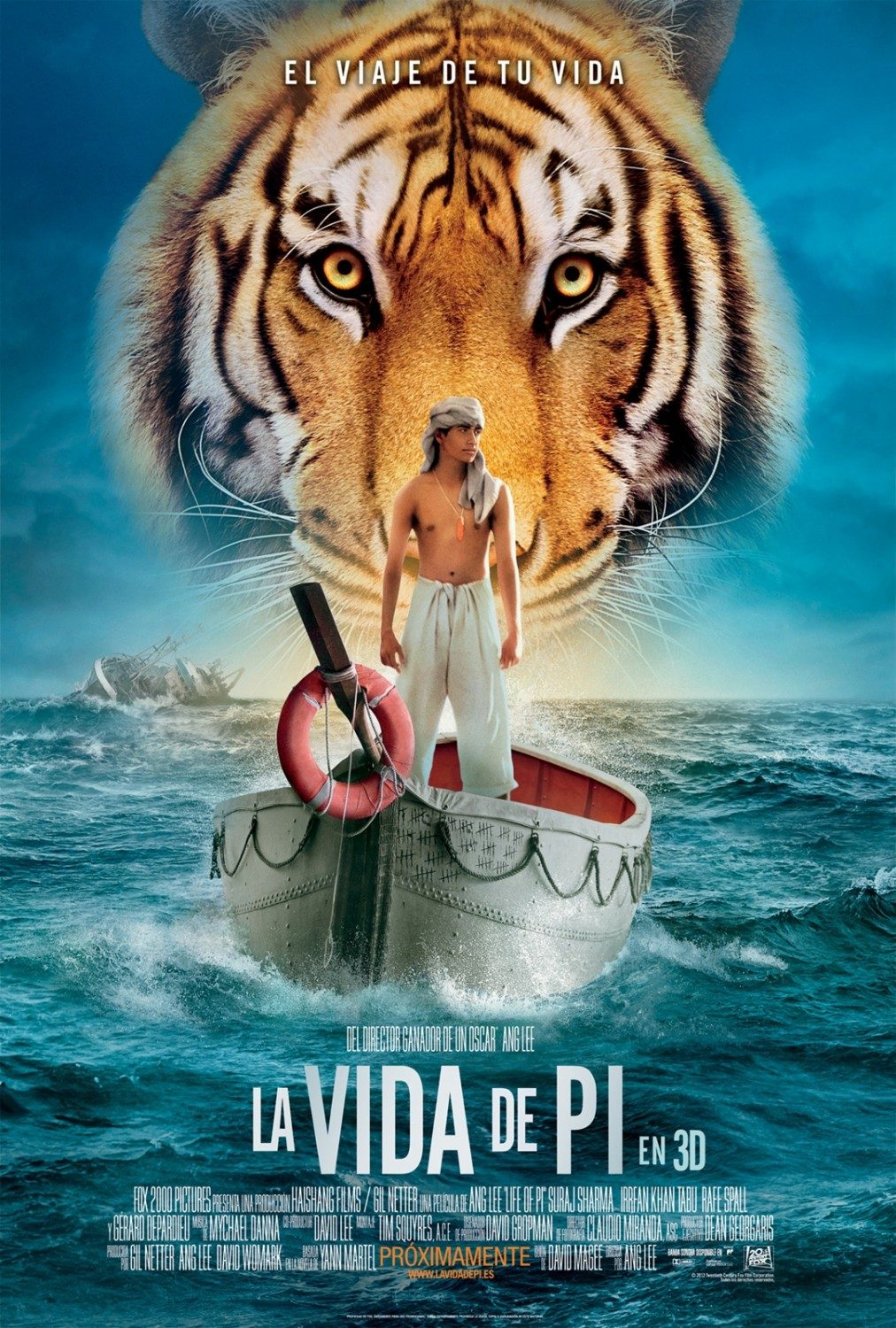 Life of Pi 2012 movie