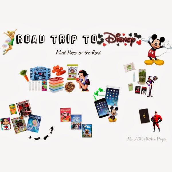 Disney Road Trip, Must Haves,