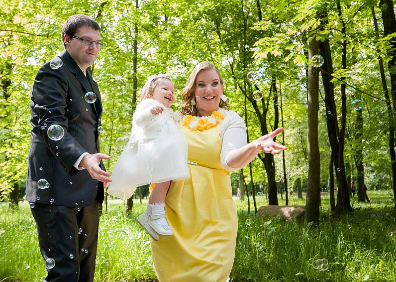 krikštynų fotosesija Kauno ąžuolyno parke