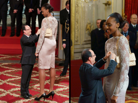 Really? Is Francois Hollande this short?