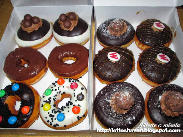 Krispy Kreme Chocolate Creations