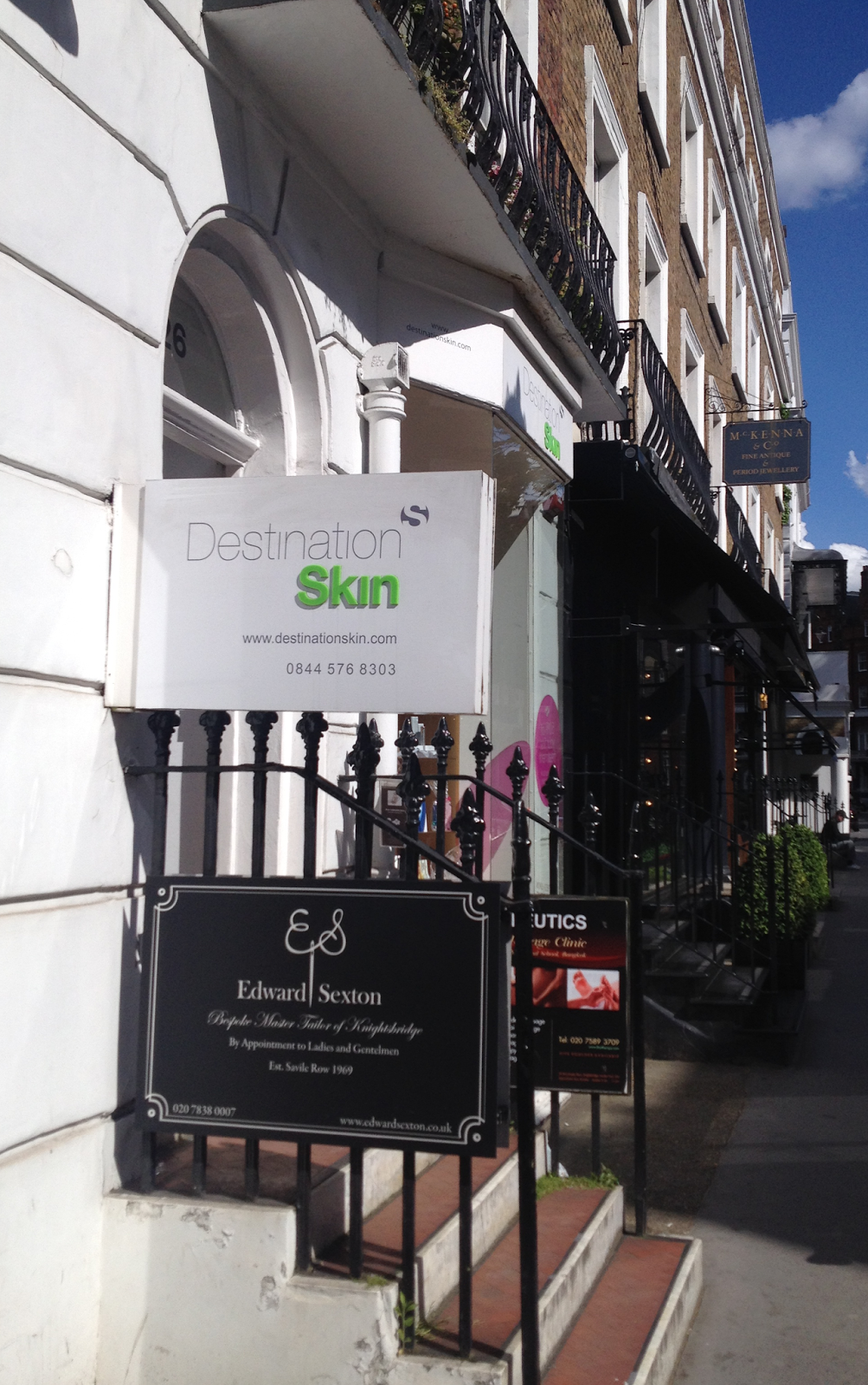 Destination Skin Clinic, Knightsbridge