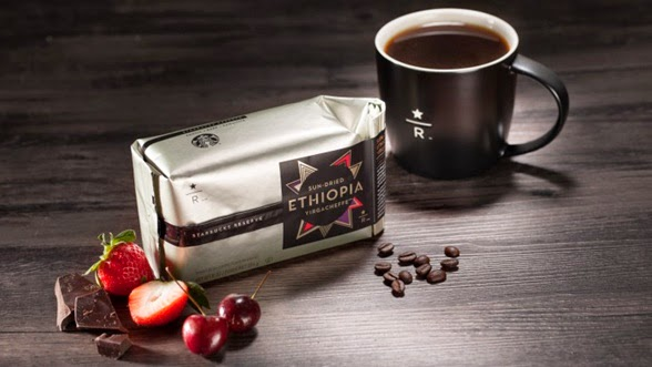 Starbucks Reserve Sun Dried Ethiopia Yirgacheffe