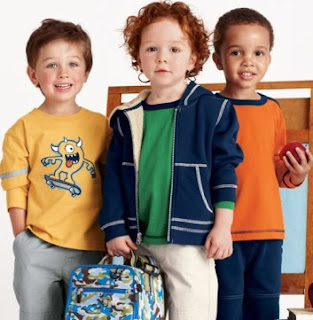 Different Types of Children Clothing