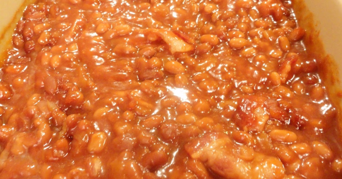 Angie's Big Love of Food: Mom's Baked Beans