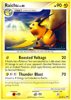 Raichu Pokemon Card Arceus Set