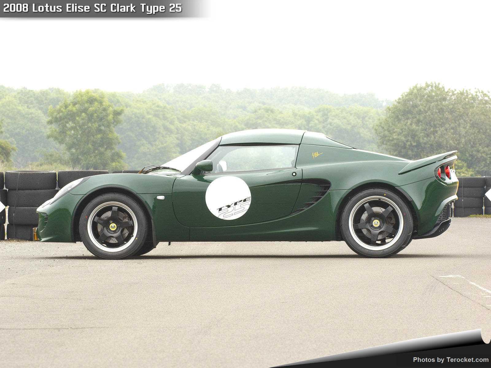 Hình ảnh siêu xe Lotus Elise SC Clark Type 25 2008 & nội ngoại thất