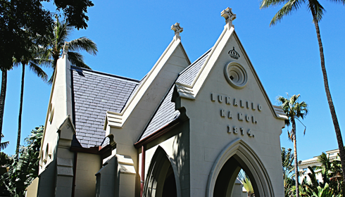 Kawaiahao Church honolulu hawaii