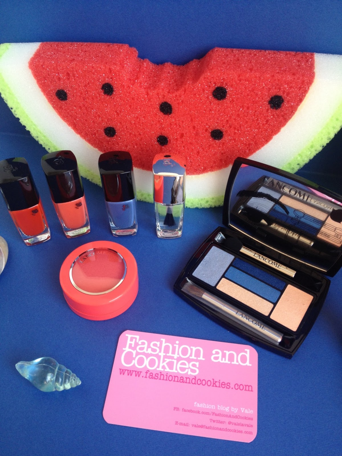 Lancome French Riviere makeup 2015 summer collection on Fashion and Cookies fashion blog