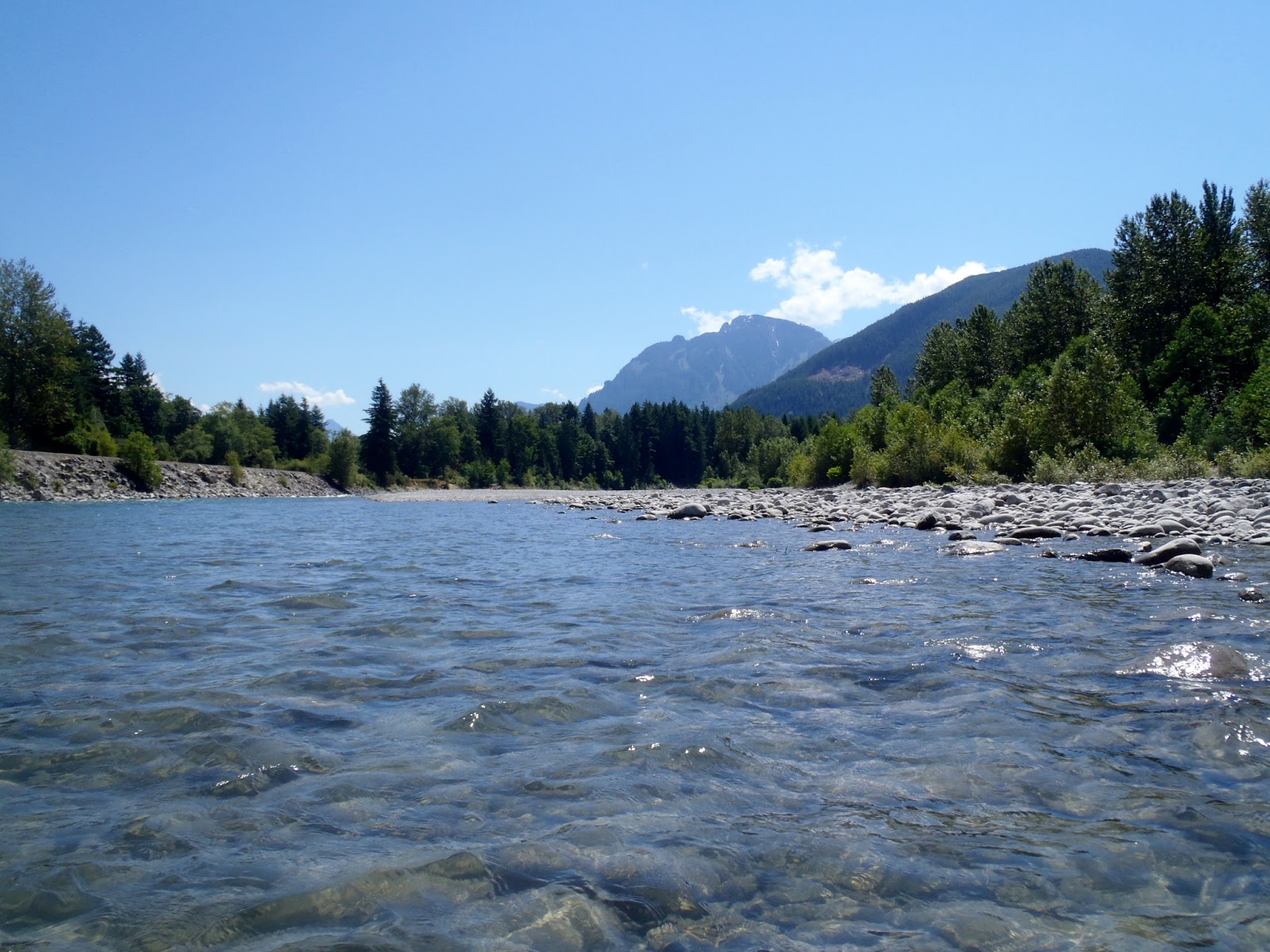 Pacific Northwest Seasons Kayaking The Sky A Long But Fun Day On - A long river