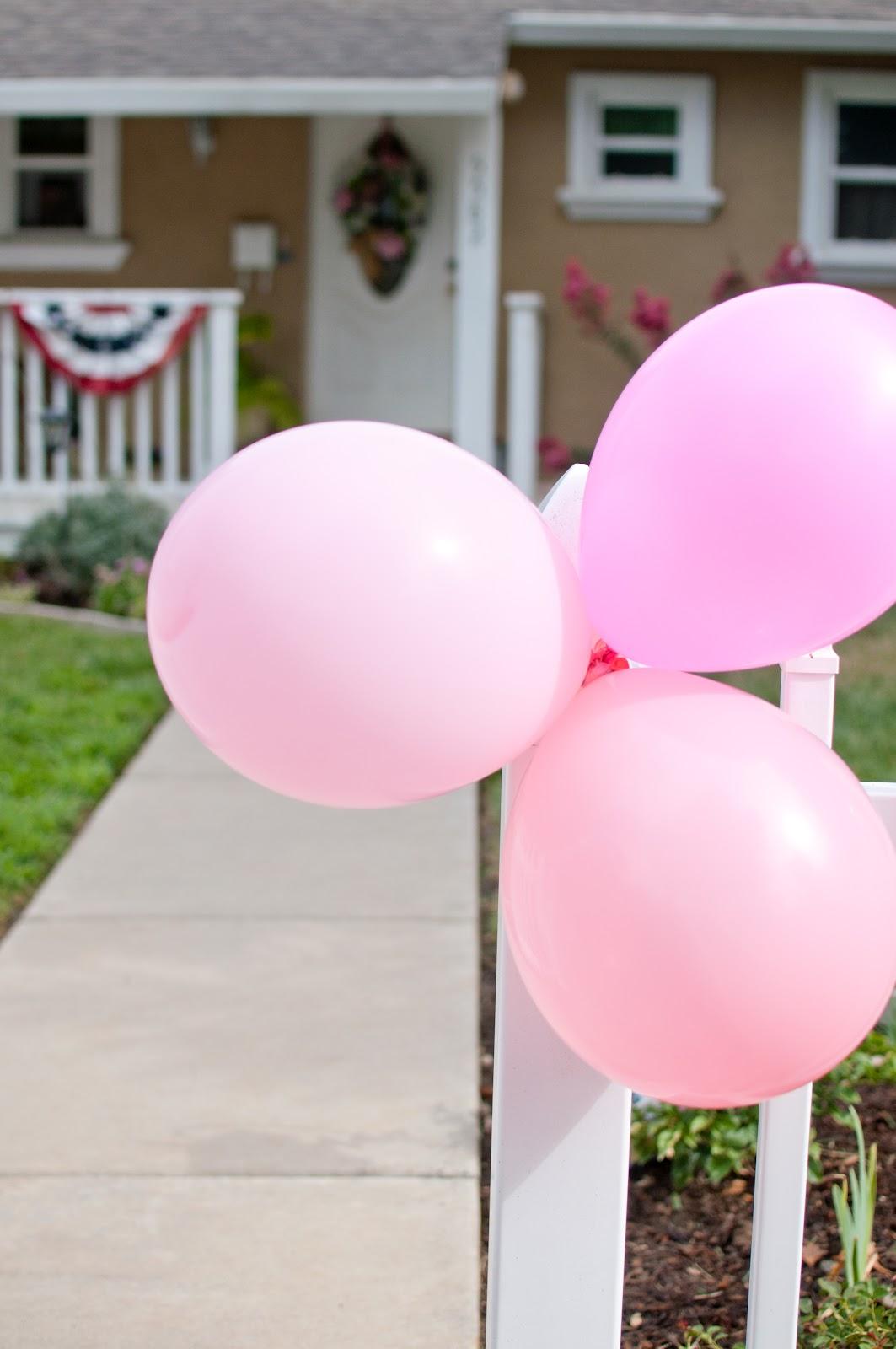 domestic fashionista a pink backyard birthday