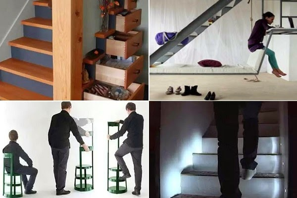 examples of top 10 multifunctional stairs