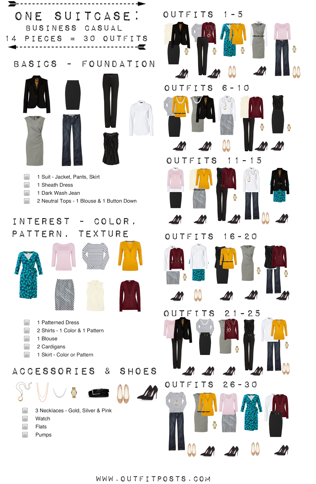 Watch Capsule Wardrobe Checklist – How To Build Your Own video