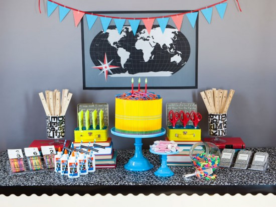 Fort field back to school party for Back to school decoration ideas