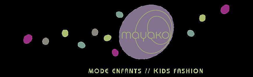 vêtements créateur pour enfants -mayako-