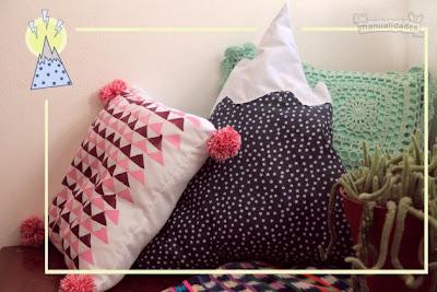 Manualidades para el hogar almohadas decorativas para el for Manualidades modernas para el hogar