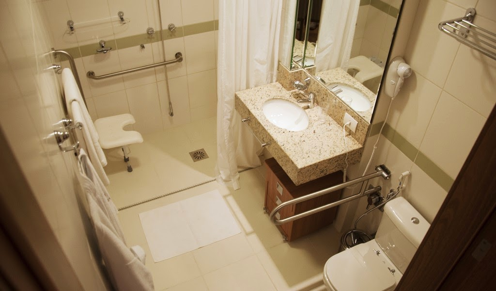 Banheiro Adaptado -> Banheiro Pequeno Adaptado Para Idoso