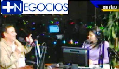 Arq. Carlos Porras en mas negocios con María Doles Arias