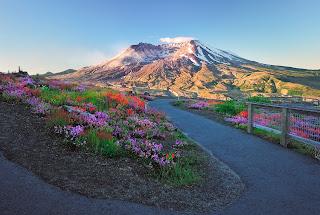 Volcán en el Monte Santa Helena