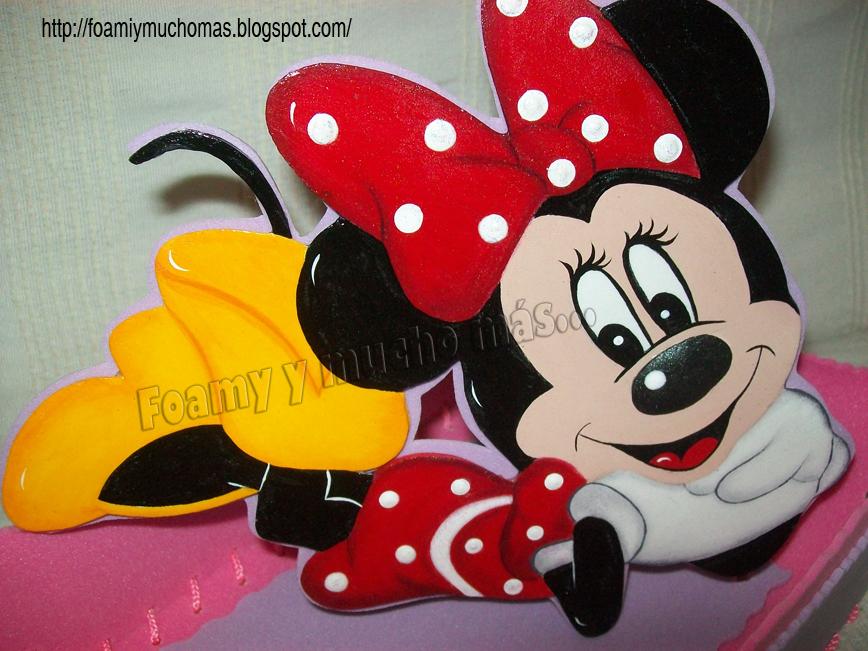 FOAMY Y MUCHO MAS...: Caramelera Minnie