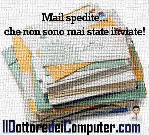mail spedite non inviate