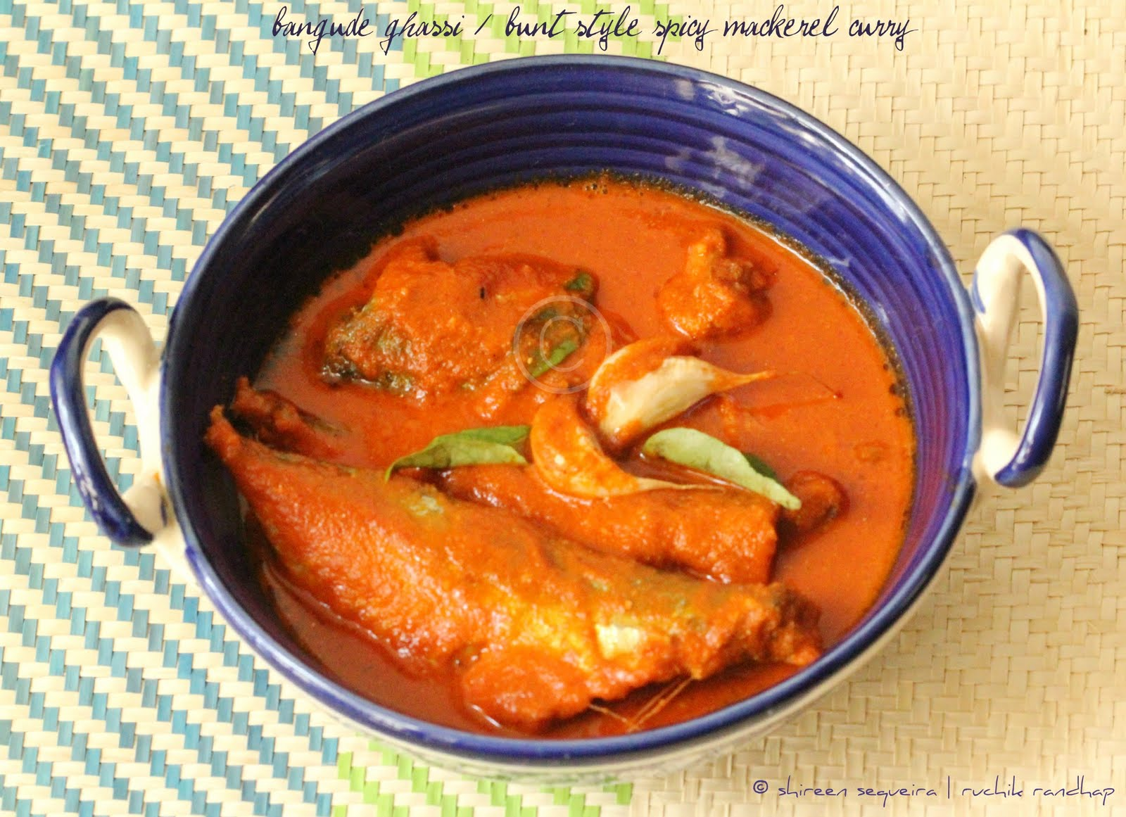recipe: king fish curry mangalorean style [19]