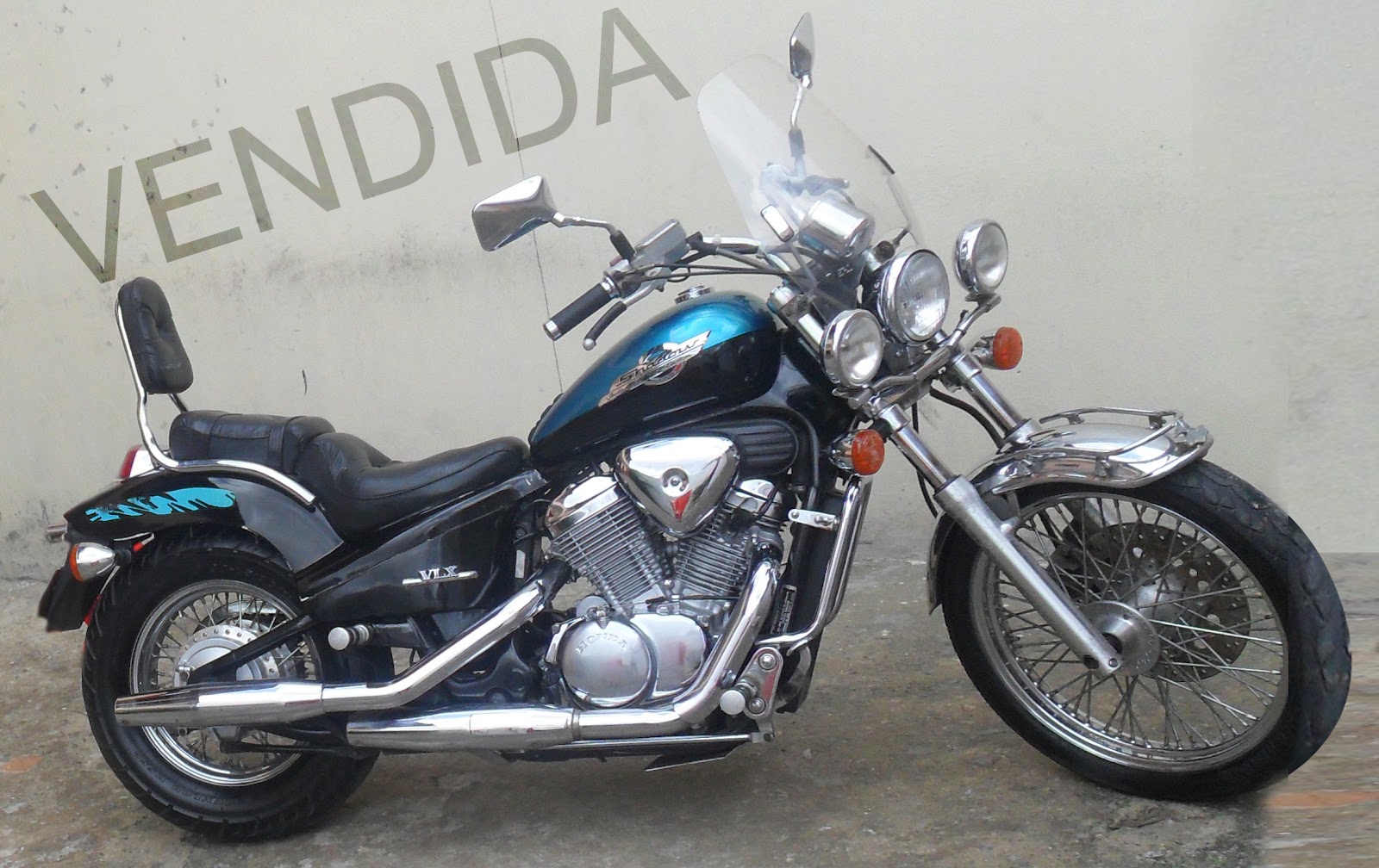 Jc 1300 Lunar  Honda Shadow 600 99 Vlx  U00e0 Venda