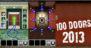 Solution Game 100 Doors 2013 Level 41 42 43 44 45