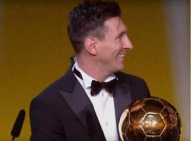Messi é eleito o melhor jogador do mundo pela quinta vez