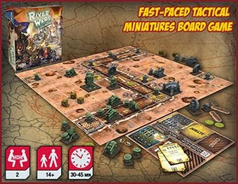 Rivet Wars the Board Game.