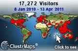 Lokasi Pengunjung Blog Ini - 2010