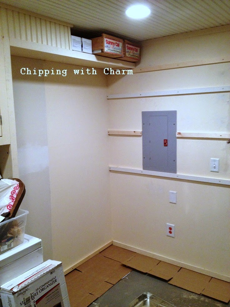 Chipping with Charm:  Basement Entry During...www.chippingwithcharm.blogspot.com