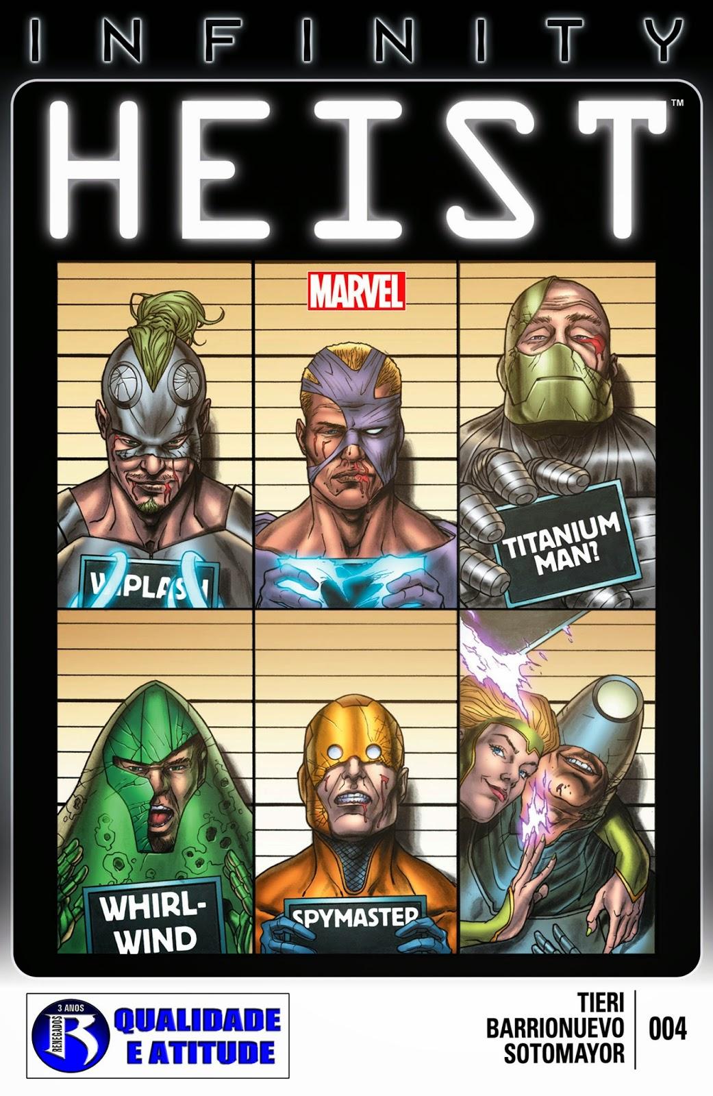 Nova Marvel! Infinito: O Golpe #4