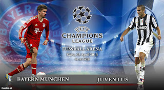 Hasil Pertandingan Liga Champions Uefa 3 April 2013