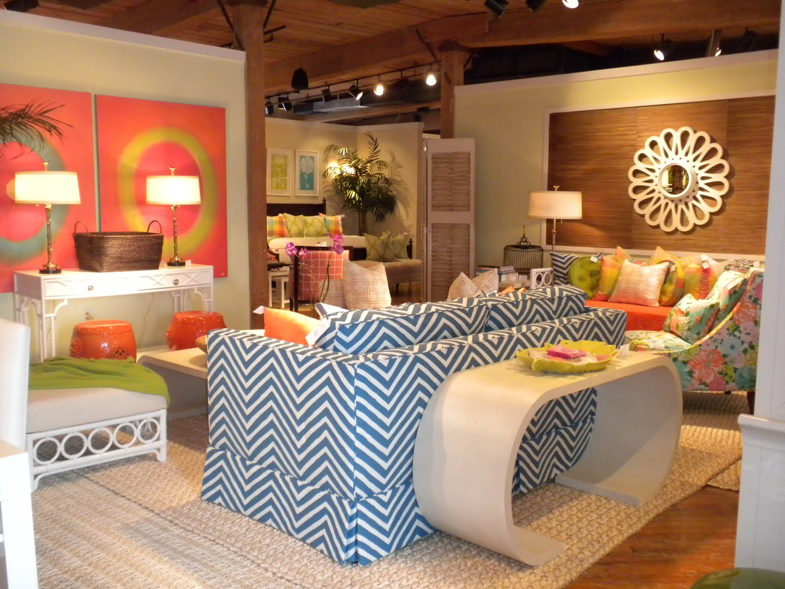 Lilly Pulitzer House luxury on a leash: lilly pulitzer showroom pics!!
