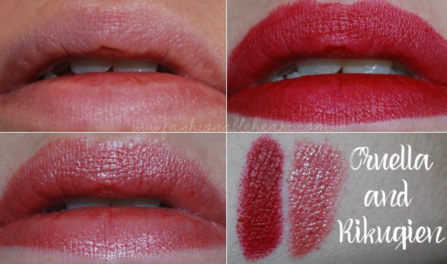 sephora nars lipstick birthday gift set free beauty insider swatches cruella rikugien