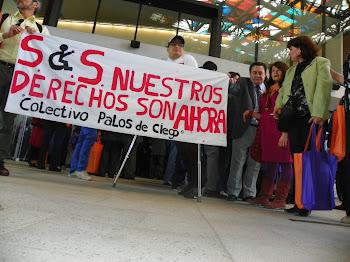 PROTESTA COLECTIVO PALOS DE CIEGO