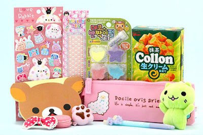 Subscription box, Kawaii, Coisas Kawaii, Crazy and Kawaii Desu, Box,