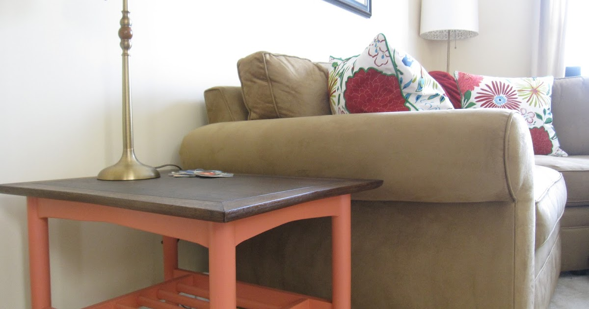 Lil suzy homemaker side table update for Homemakers furniture illinois