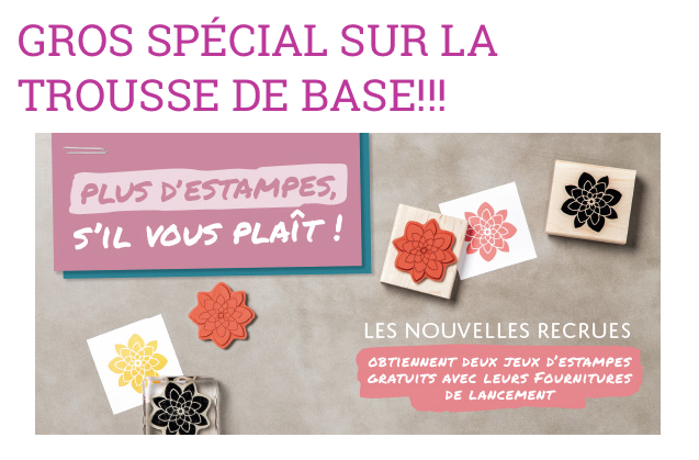 Joindre Stampin'Up! Cliquez ici