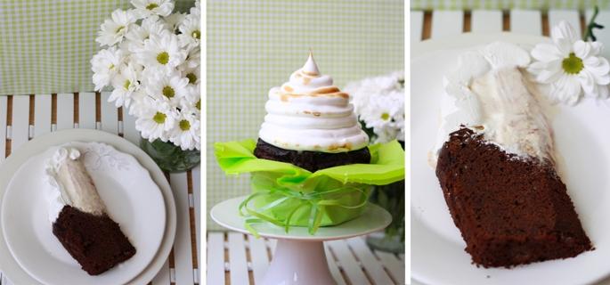 alaska cake, tarta alaska, megamagdalena, merengue,  helado, meringue, icecream, kids, recipe, niños, receta