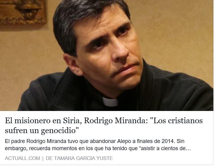 """††† """"Los cristianos sufren un Genocidio"""""""