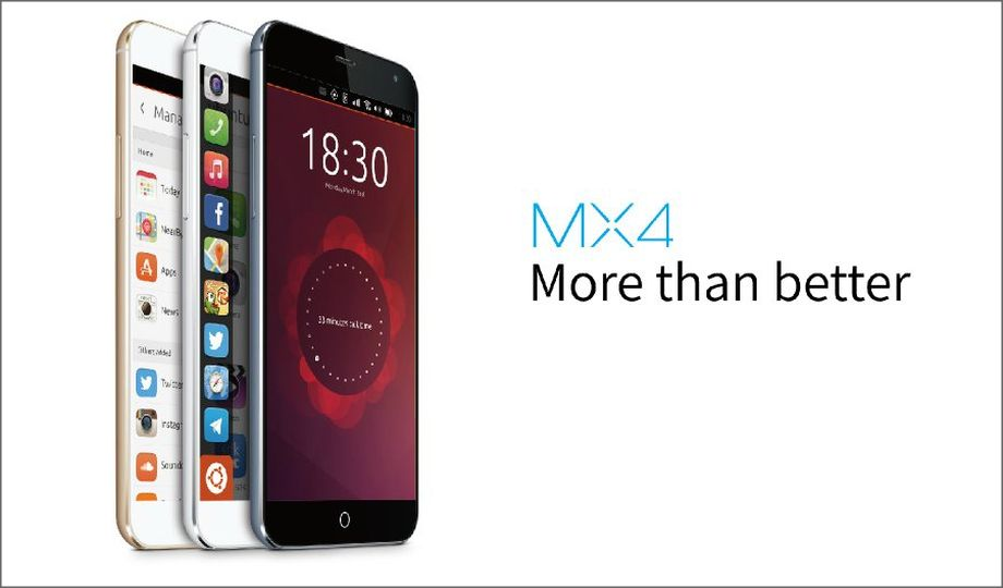 Meizu MX4 Ubuntu Phone