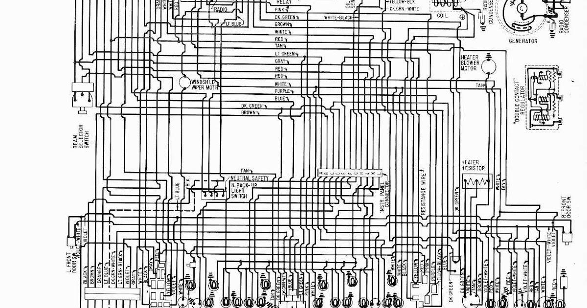 Free Auto Wiring Diagram  1961 Buick Lesabre  Wildcat